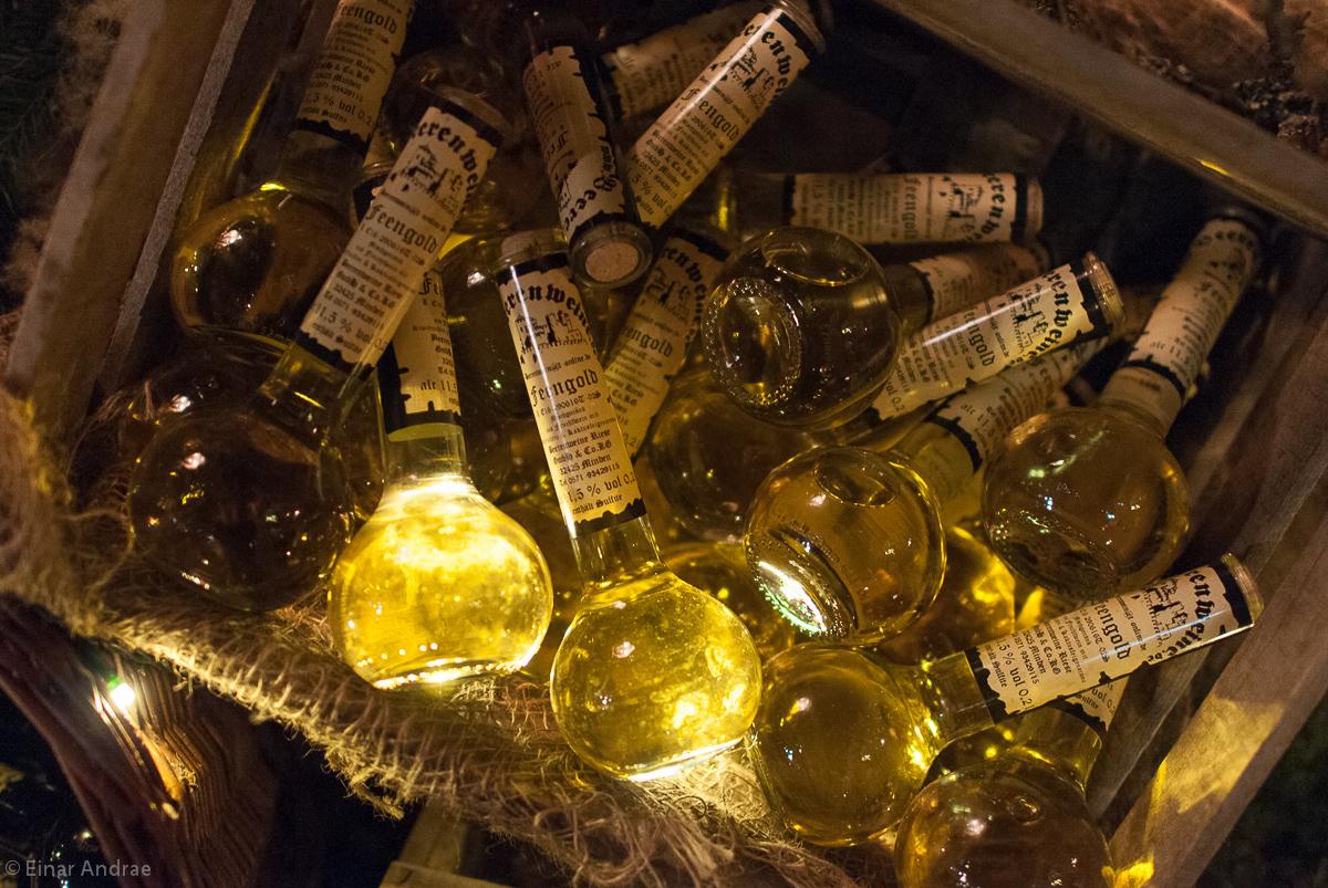 Mittelaltermarkt Flaschen