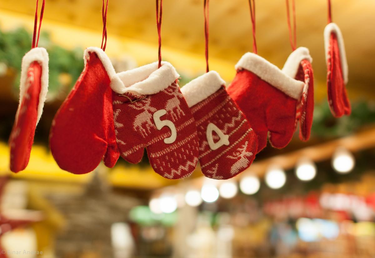 Weihnachtsmarkt Handschuhe