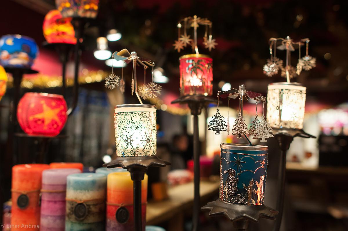 Weihnachtsmarkt Kerzen