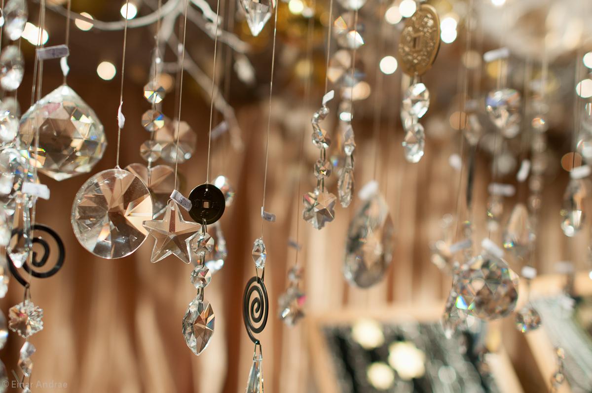 Weihnachtsmarkt Kristallglas